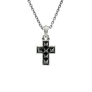 【メンテナンスセット】アルテミスキングス ARTEMISKINGS スタッズクロスチャーム(トップのみ)【skz】ブランド シルバー ネックレス クロス 十字架 黒 小さめ 小ぶり スタッズ メンズ レディー