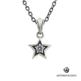 アルテミスキングス Artemis Kings ミスティックスターチャームブランド シルバーアクセサリー ネックレス ペンダント ミスティック クォーツ 天然石 星 スター 一粒 ストーン オシャレ 重ね付け かわいい レディース プレゼント ギフト 誕生日 記念日