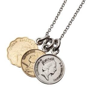 【新作】アルテミスキングス ARTEMIS KINGS 3コインペンダント AKP0117【skz】ブランド シルバーアクセサリー メダル コイン ネックレス 3連 エリザベス シンプル メンズ レディース 男性 女性 大人