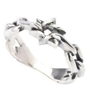 DEAL DESIGN ディールデザイン 6スターチェーンリング メンズ 指輪 394210【メーカー取り寄せ品】