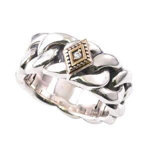 DEAL DESIGN ディールデザイン ラフカットチェーンリング メンズ 指輪 394224 【メーカー取り寄せ品】