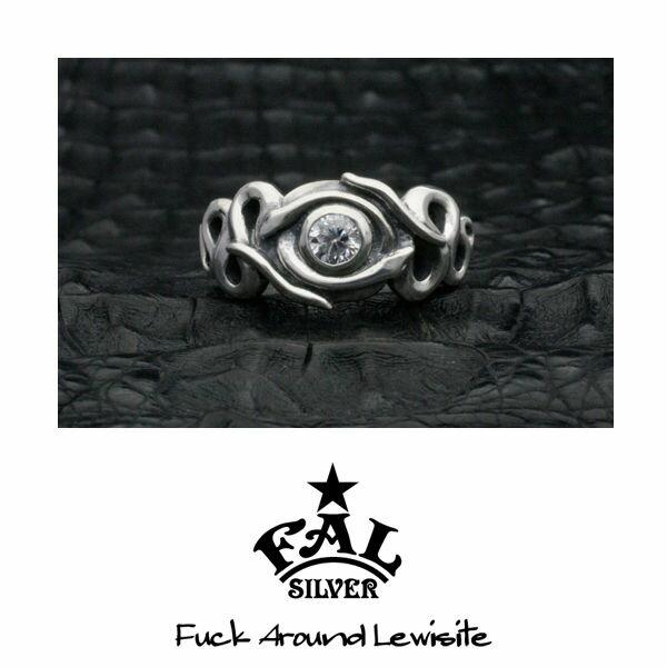 フェイスイーチリビアルリング/シルバーリング/指輪/FAL/エフエーエル
