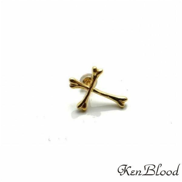 新作/KP-425A-K10ピアス/片耳分/Ken Blood/ケンブラッド
