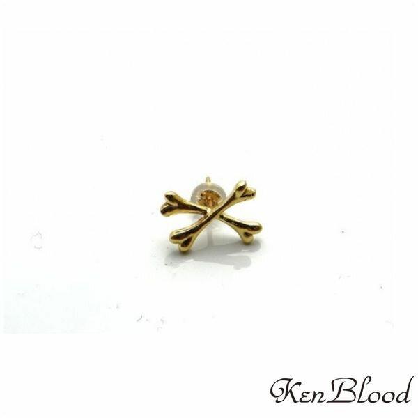 新作/KP-425B-K10ピアス/片耳分/Ken Blood/ケンブラッド