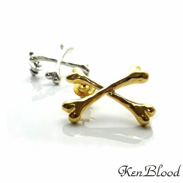 新作/KP-427 ブローチ/シルバーブローチ/ゴールド/Ken Blood/ケンブラッド