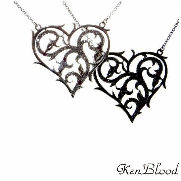 新作/KP-429 ペンダント/シルバー/ブラック/Ken Blood/ケンブラッド