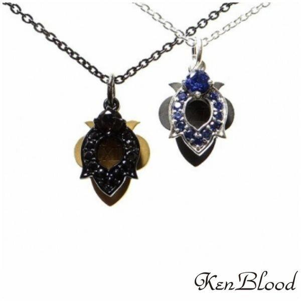 新作/KP-438 ペンダント/シルバー/ブラック/Ken Blood/ケンブラッド