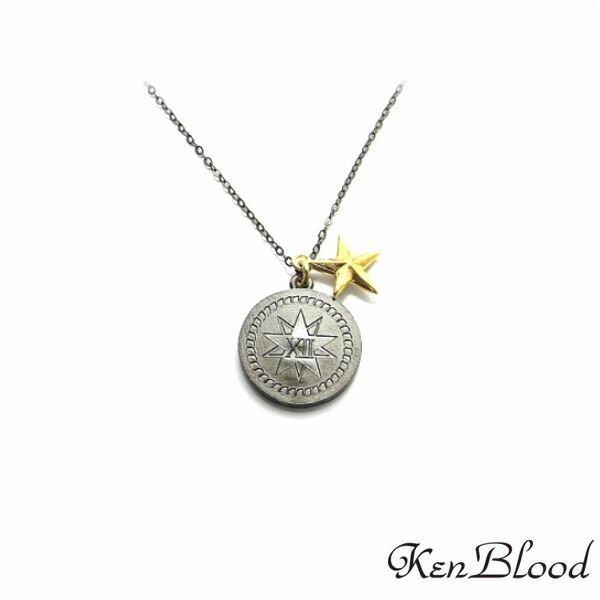 新作/KP-452 ペンダント/ブラックゴールド/Ken Blood/ケンブラッド