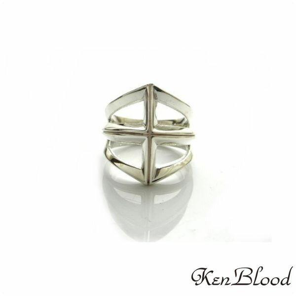 新作/KR-249 リング/シルバーリング/Ken Blood/ケンブラッド