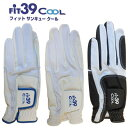 【送料無料】【2枚セット】FiT39 Cool Glove 夏用グローブ メッシュ フィットサンキュー クール MIC39GOLF/ミックゴルフ