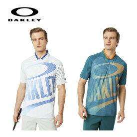 【オークリー】【2019年春夏モデル】メンズ ゴルフ シャツ 半袖ポロ 434357 Oakley Logo Polo【全国一律送料無料】