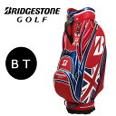 【送料無料】【ネームプレート刻印無料】ブリヂストンゴルフ キャディバッグ CBG770(BT/全英オープン) メジャー…