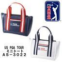【定形外送料無料】AS−3028 ダイヤゴルフミニトートバッグ/US PGA TOUR / TOUR Championship