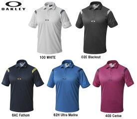 【オークリー】メンズ ゴルフ ポロシャツ 434185JP  OAKLEY BARK REAR AERO DELTA SHIRTS 【全国一律送料無料】