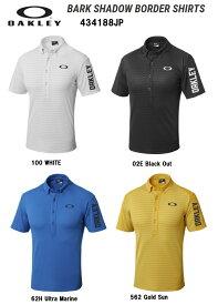 【オークリー】メンズ ゴルフ ポロシャツ 434188JP  OAKLEY BARK SHADOW BORDER SHIRTS【全国一律送料無料】