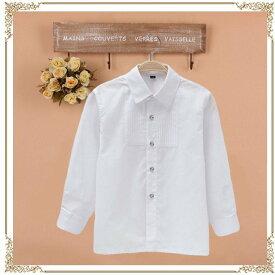 訳あり Yシャツ ブラウス 男の子 フォーマル スーツ ホワイト ブルー ストライプ 男の子 ワイシャツ 子供 シャツ 子供 スーツ フォーマルシャツ 男の子 スーツ 男女兼用 ユニセックスsu-0056-b