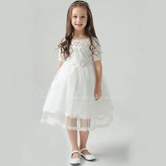 dreamkikaku | Rakuten Global Market: Kids formal dresses white ...