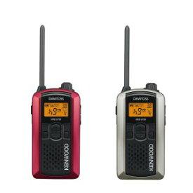 KENWOOD/ケンウッドUBZ-LP20RD(レッド)+UBZ-LP20SL(シルバー)特定小電力トランシーバー2台セット(無線機・インカム)