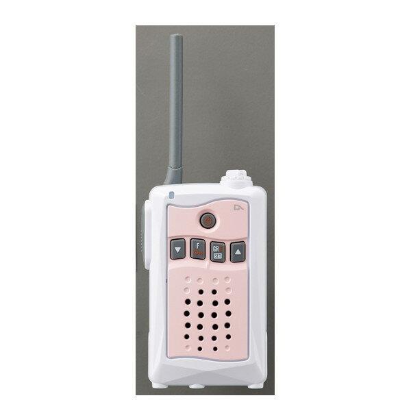 アルインコ特定小電力トランシーバーDJ-CH3P (ピンク) 交互通話・中継対応 47ch