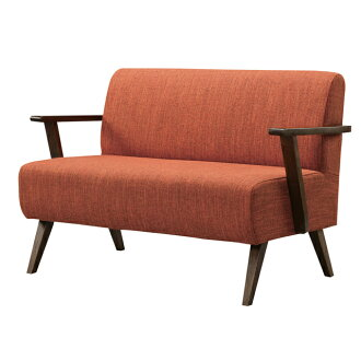Two Seat Sofa For People Sofas Sofer Love Compact Upholstered With Casual 110 Cm Width Red Bench Type