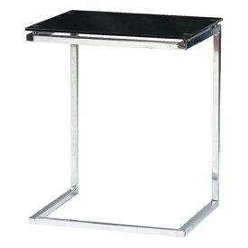 サイドテーブル ローテーブル リビングテーブル ガラス製 モダン 45cm幅 幅45cm ブラック 黒 ソファーテーブル ベッドテーブル コーナーテーブル ソファーサイドテーブル ベッドサイドテーブル コーヒーテーブル