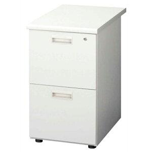 スチール製 シンプル 41cm幅デスクワゴン デスクワゴン デスク収納 サイドワゴン 袖箱 キャビネット オフィス収納 グレー