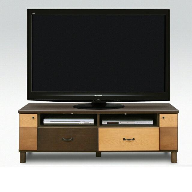 テレビ台 テレビボード ローボード 完成品 木製 北欧風 135cm幅 幅135cmロータイプテレビボード TVボード てれび台 TV台 リビングボード AV収納 テレビラック ブラウン 40インチ対応 40型対応