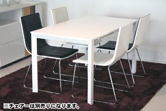 식탁 원목 모던 130cm 폭 폭 130cm 화이트 화이트 4 인용 식탁 네 용 식탁 4 인승 식탁 식당 테이블 식탁 테이블 카페 테이블 05P13Dec14