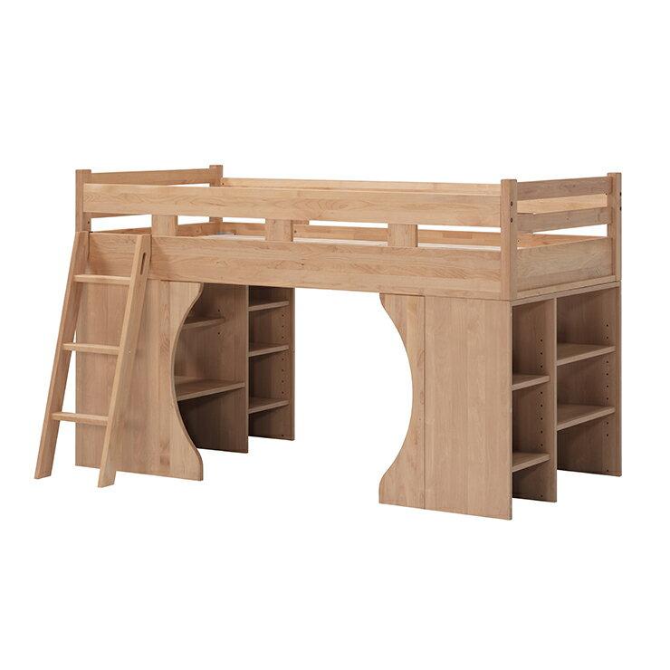 システムベッド アルダー ナチュラル 国産品 日本製 堀田木工所 パーク
