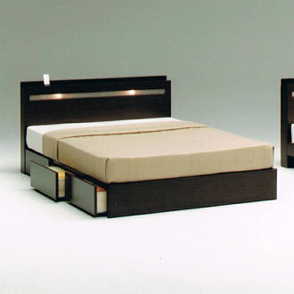 140 cm wide double bed frame double bed frame with drawers natural brown wood modern - Double Bed Frame