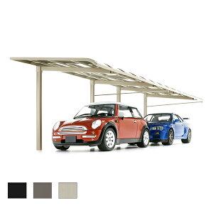 カーポート 2台駐車場 リクシル レガーナポートシグマ 雨樋なし 1台用 縦連棟 一般タイプ 5024 W2397×L9922 車庫 ガレージ 本体 建材屋