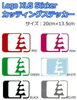 NORTH WEST RIDERS (Northwest Tri dozen) cutting sticker Sticker LOGO XLG ar 20 x 13.5 cm