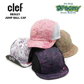 clef クレRB3621 JUMP BALL CAP SIZZE 約55cm〜60cm 帽子 ロゴ 正規品