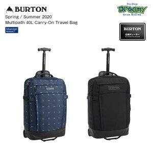 BURTON バートン Multipath 40L Carry-On Travel Bag 213411 40L TSA承認ロック対応 機内持ち込み可 ノートPC収納 ウィールバッグ Spring/Summer2020 正規品