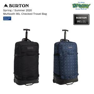 BURTON バートン Multipath 90L Checked Travel Bag 213421 90L TSA承認ロック対応 プルハンドル ネームタグ付属 ウィールバッグ Spring/Summer2020 正規品