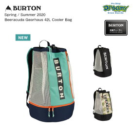 BURTON バートン Beeracuda Gearhaus 42L Cooler Bag 217811 バックパック ドローコードクロージャー 保冷サブコンパートメント ロゴ リュック 2020春夏 正規品