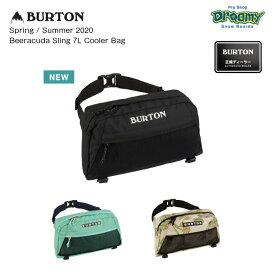 BURTON バートン Beeracuda Sling 7L Cooler Bag 217821 スリングバッグ 取り外し可能保冷バッグ ファスナー開閉 アクセサリーポケット ロゴ 2020春夏 正規品