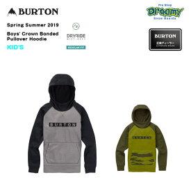 BURTON Boys' Burton Crown Bonded Pullover Hoodie キッズ レギュラーフィット 撥水加工 フリース プルオーバー パーカー Sprin Summer 2019モデル 正規品