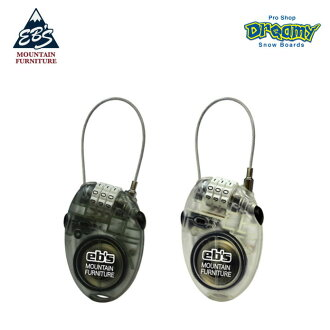 eb's Ebisu CABLE LOCK cable lock 3800701 dial-style 3 figure password theft prevention Snow goods snowboarding 2018-2019 model regular article