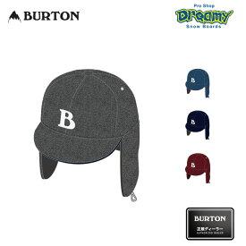 BURTON バートン Earflap Hat 206331 キャップ レギュラーフィット 耳あて 帽子 スノーボード 2019-2020 正規品