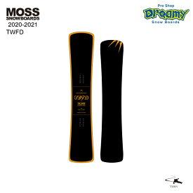 20-21 MOSS SNOWBOARD モス TWFD ティーダブリューエフディー 接点移動式キャンバー ハンマーヘッド フリーラン カービング スノーボード 板 2021モデル 正規品