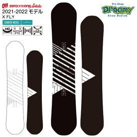 21-22 011 Artistic X FLY 148/150/152/154/155 ゼロワンワンアーティスティック エックスフライ フラットツインキャンバー 国産 スノーボード 板 2022 正規品