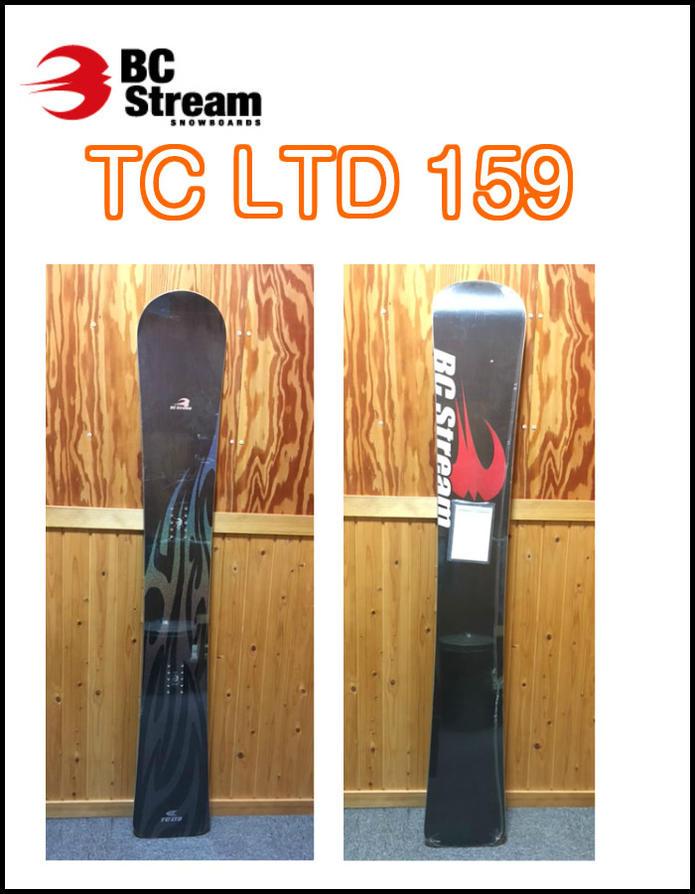 09-10モデル BC STREAM ビーシーストリーム TC LTD 159cm アルパインボード 正規品