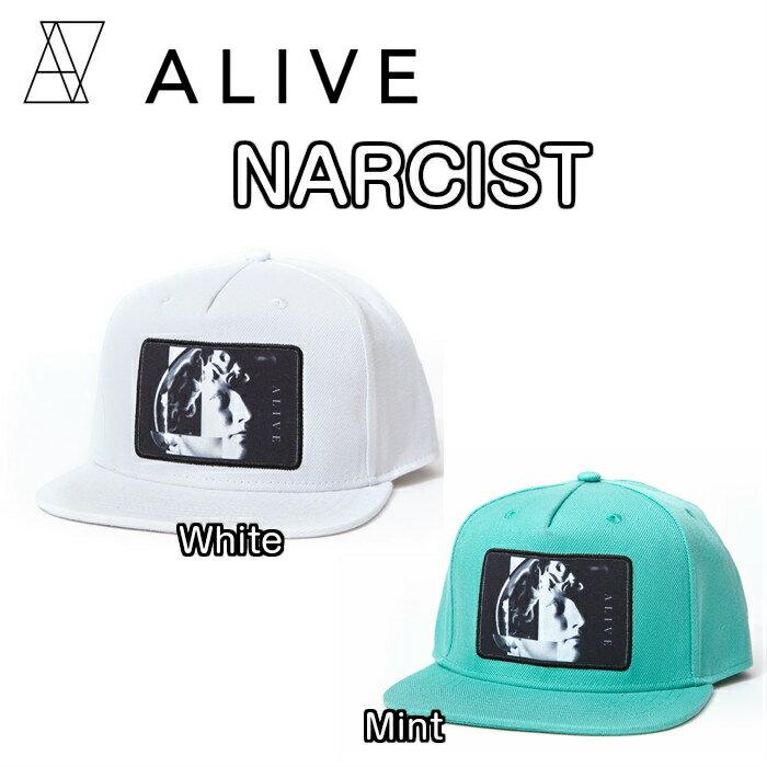 ALIVE アライブ NARCIST ナルシスト CAP 帽子 キャップ ハット