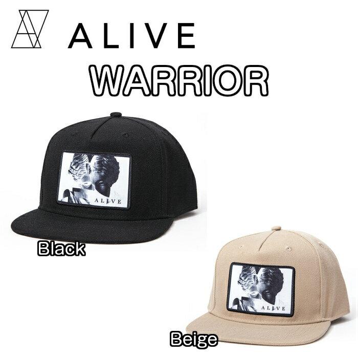 ALIVE アライブ WARRIOR ウォリアー CAP 帽子 キャップ ハット