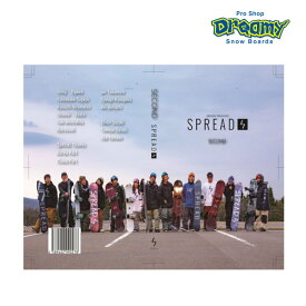 Spread スプレッド 「SECOND」 尾川慎二 レッツトライ Let's Try グラトリDVD スノーボード グラトリ グラウンドトリック DVD