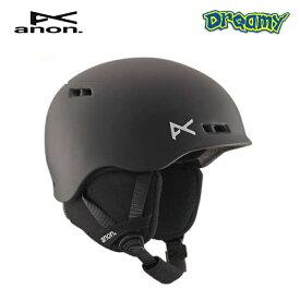 16-17 anon BURNER ヘルメット ダイヤルサイズ調整可 キッズ ジュニア Black アノン Boa スノーボード Snowboards 2017モデル 国内正規品
