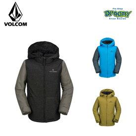 VOLCOM ボルコム SELKIRK INS JKT I0451804 スノー ジャケット リラックスフィット スノーボードウェア ボーイズ 子供用 2018モデル 正規品