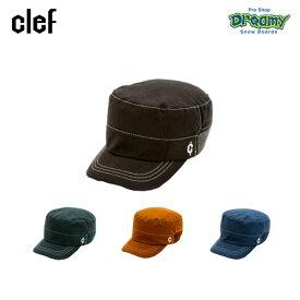 Clef クレ SKY RIB WORK CAP RB3570 スカイ リブ ワーク キャップ COOLEVER スベリ(汗)止め メッシュ裏地 レーヨン コットン 帽子 正規品
