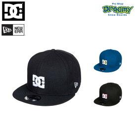 DC ディーシー ニューエラ メンズ キャップ EMPIRE REFRESH ADYHA03637 アジャスターバンド スナップバック ロゴ 刺繍 帽子 2018モデル 正規品